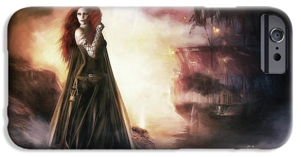 The Tempest IPhone Case by Shanina Conway