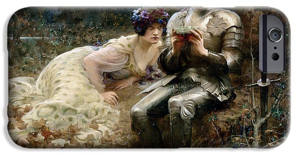 The Temptation Of Sir Percival IPhone 6s Case by Arthur Hacker