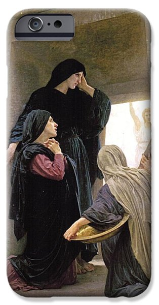 The Three Marys At The Tomb IPhone Case by William Bouguereau