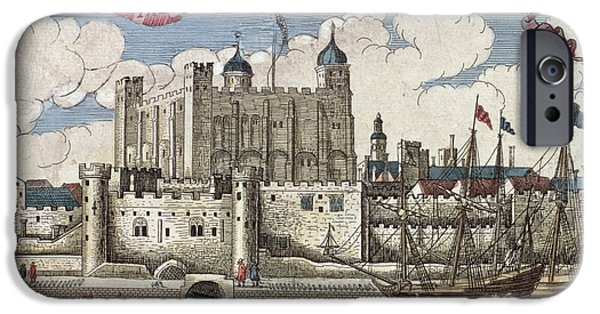 The Tower Of London Seen From The River Thames IPhone 6s Case by English School