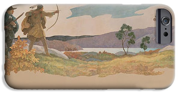 The Turkey Hunters IPhone 6s Case by Newell Convers Wyeth