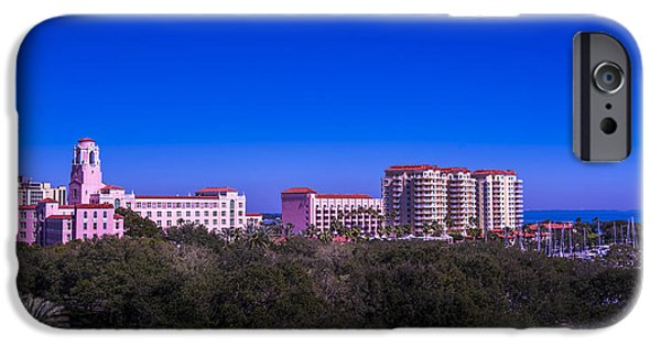 The Vinoy Resort Hotel IPhone Case by Marvin Spates