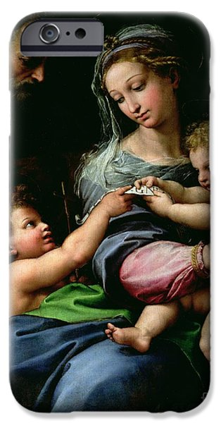 The Virgin Of The Rose IPhone Case by Raphael