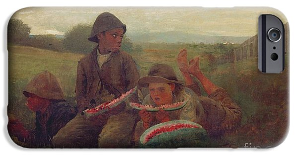The Watermelon Boys IPhone 6s Case by Winslow Homer