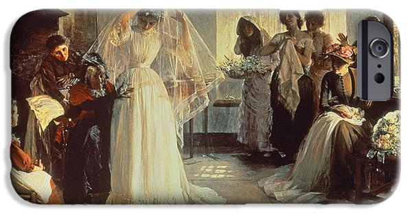 The Wedding Morning IPhone Case by John Henry Frederick Bacon