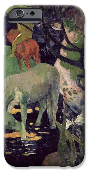 The White Horse IPhone Case by Paul Gauguin