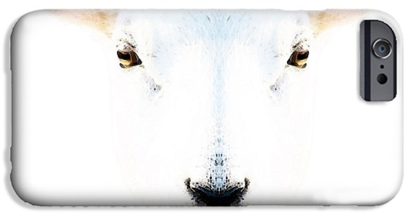 The White Sheep By Sharon Cummings IPhone 6s Case by Sharon Cummings