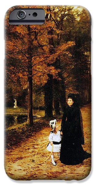 The Widow IPhone Case by Horace de Callias