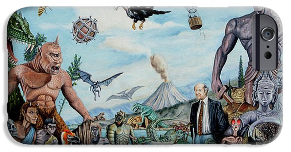 The World Of Ray Harryhausen IPhone 6s Case by Tony Banos