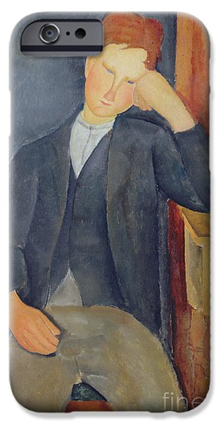 The Young Apprentice IPhone 6s Case by Amedeo Modigliani