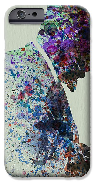 Thelonious Monk Watercolor 1 IPhone 6s Case by Naxart Studio