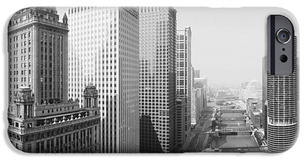 This Is A View Looking Over The Chicago IPhone Case by Panoramic Images