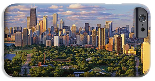 This Is Lincoln Park With Diversey IPhone Case by Panoramic Images