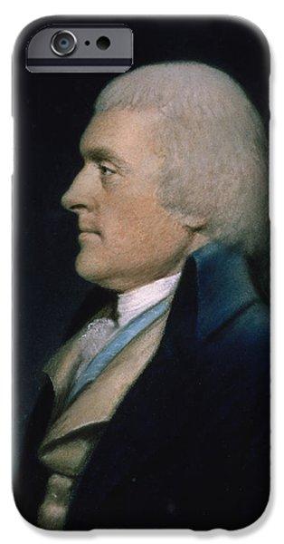 Thomas Jefferson IPhone Case by James Sharples