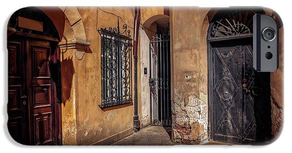 Three Doors In Warsaw IPhone Case by Carol Japp
