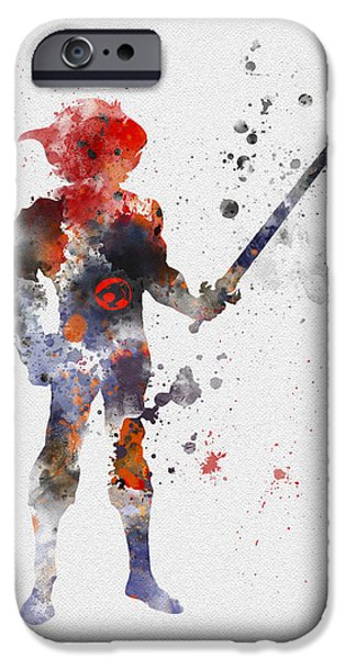 Thundercat IPhone Case by Rebecca Jenkins