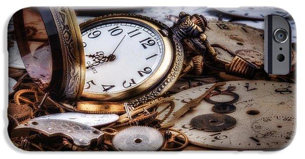 Time Machine Still Life IPhone Case by Tom Mc Nemar