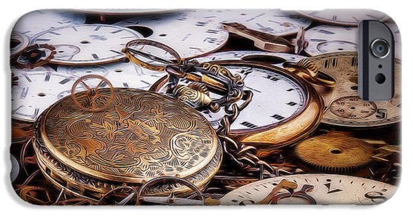 Time Pieces IPhone Case by Tom Mc Nemar
