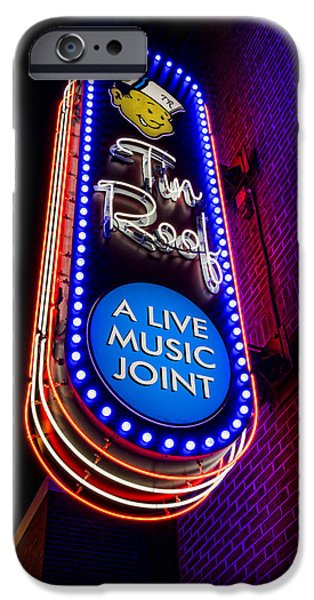 Tin Roof Beale Street IPhone Case by Stephen Stookey