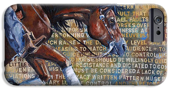 To Rein A Horse IPhone Case by Sarrah Dibble-Camburn