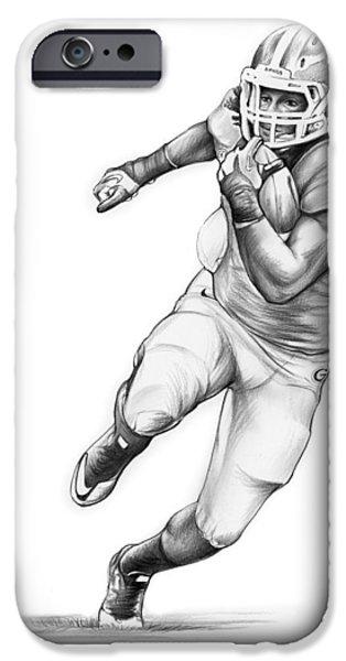 Todd Gurley IPhone 6s Case by Greg Joens