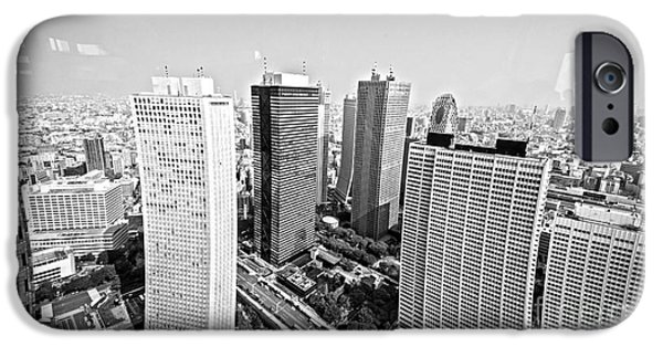 Tokyo Skyline IPhone 6s Case by Pravine Chester