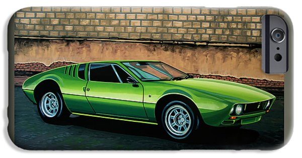 Tomaso Mangusta 1967 Painting IPhone Case by Paul Meijering