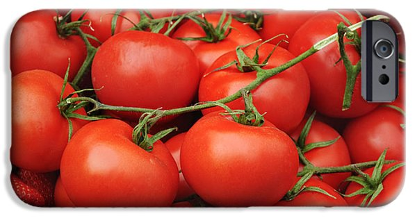 Tomatoes IPhone Case by Jelena Jovanovic