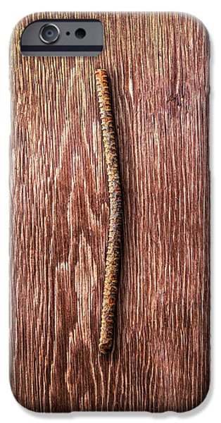 Tools On Wood 54 IPhone Case by YoPedro