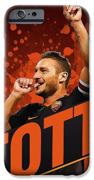 Totti IPhone 6s Case by Semih Yurdabak