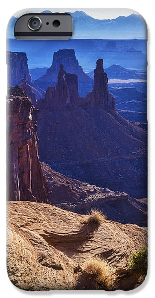 Tower Sunrise IPhone Case by Chad Dutson