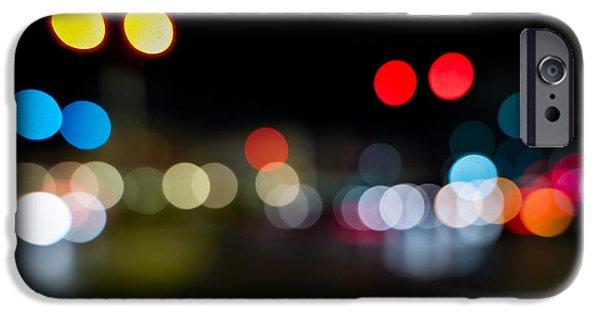 Traffic Lights Number 14 IPhone Case by Steve Gadomski