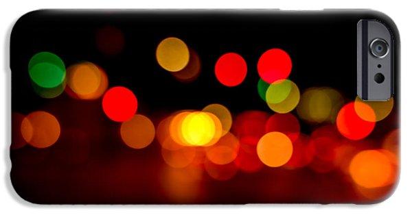 Traffic Lights Number 8 IPhone Case by Steve Gadomski