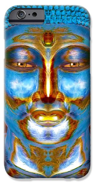 Tranquil Buddha IPhone Case by Khalil Houri