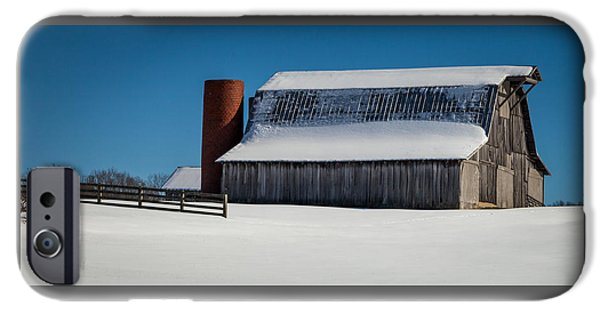 Tranquility Of Winter IPhone Case by Karen Wiles