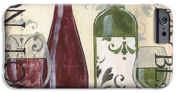 Transitional Wine 1 IPhone Case by Debbie DeWitt