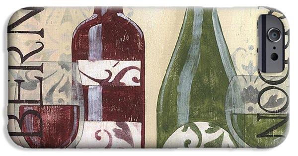 Transitional Wine 2 IPhone Case by Debbie DeWitt