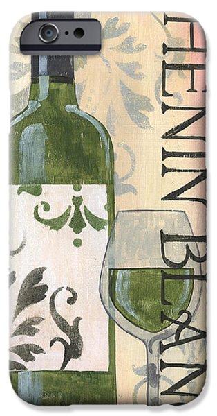 Transitional Wine Chenin Blanc IPhone Case by Debbie DeWitt