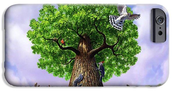 Tree Of Life IPhone Case by Jerry LoFaro