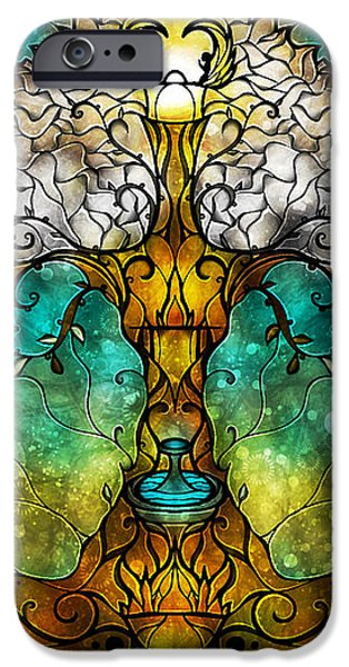 Tree Of Life IPhone Case by Mandie Manzano