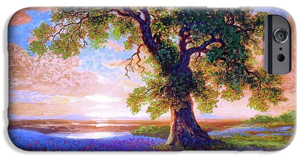 Tree Of Tranquillity IPhone 6s Case by Jane Small