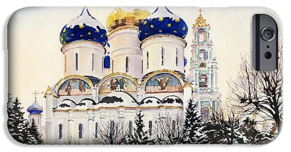 Trinity Lavra Of Saint Sergius Sergiyev Posad IPhone Case by Margaret Merry