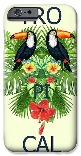 Tropical Summer  IPhone Case by Mark Ashkenazi