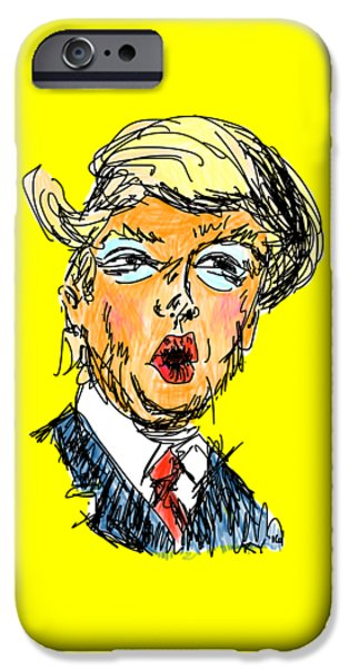 Trump IPhone 6s Case by Robert Yaeger