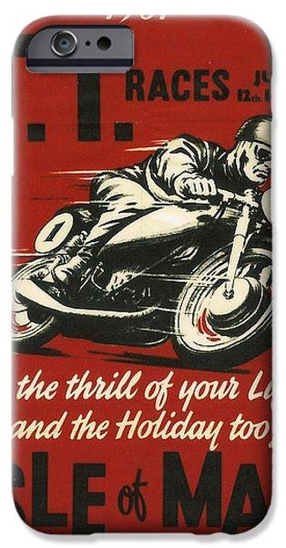 Tt Races 1961 IPhone Case by Georgia Fowler