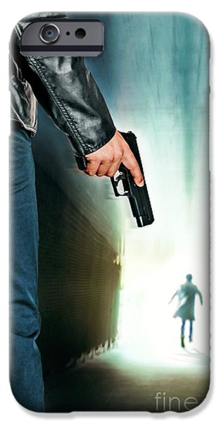 Tunnel Pursuit IPhone Case by Carlos Caetano