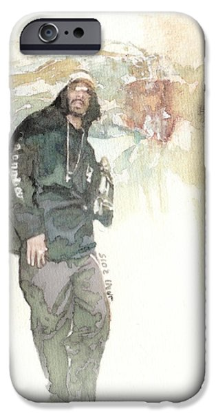 Tupac And Snoop 2 IPhone Case by Jani Heinonen