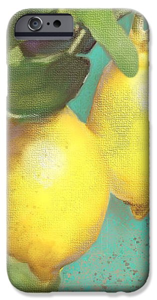Tuscan Lemon Tree - Citrus Limonum Damask IPhone 6s Case by Audrey Jeanne Roberts