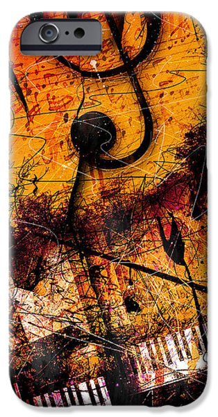 Twilight In E Minor IPhone Case by Gary Bodnar
