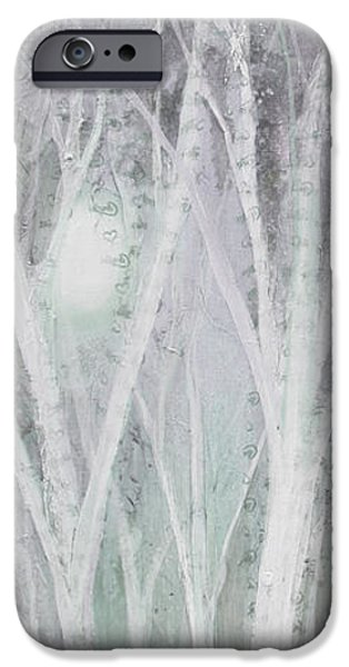 Twilight In Gray I IPhone Case by Shadia Zayed